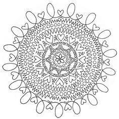 Free Printable Mandalas For Adults Difficult Mandala