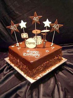 Happy Birthday Drum Cake Piece Of Cake Facebook