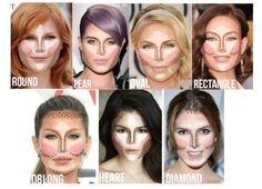 1000 Ideas About Contouring Oval Face On Pinterest Oval