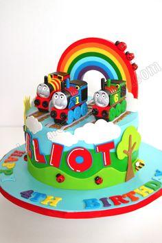 Thomas The Train Cake Fondant Pinterest Train Cakes