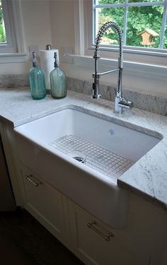 1000+ images about Granite Installations- countertops and ... on Farmhouse Granite Countertops  id=87729