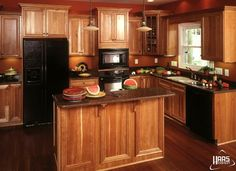 1000 Images About Hickory Cabinets And On Pinterest