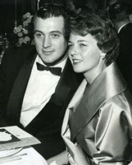 Image result for rock hudson and phyllis gates