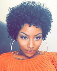 short curly haircuts for black women hair styles pinterest black women style and curly