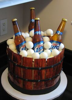 1000 Images About Beer Bottle Cake On Pinterest Beer