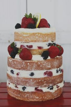 Image result for cakes with fruit fillings