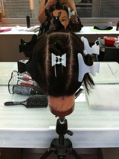 Sectioning For Full Head Of Foils Hair Color Pinterest