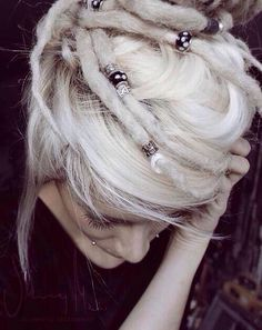 1000 images about dreads on pinterest dreadlocks dreads and short white hair