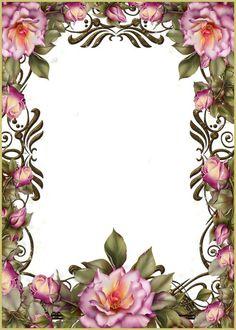 Красивый шаблон для поздравительной открытки с Днем ...