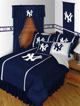 New York Yankees Mlb Sports Bedding Collection Decorate Your Room With Gear From Favorite Professional Baseball Team