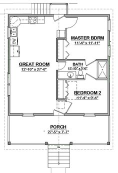 Free House Plan Perfect No Wasted Es See Laura Cottage Pdf Would Need To Add A Washer Dryer Area Too Could Remove The 2 Side Doors In Bathroom