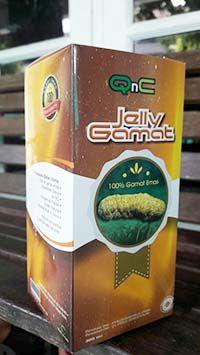 New QnC Jelly Gamat untuk mengobati luka bakar