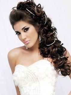 peinados xv on pinterest fiestas wedding hairs and bodas