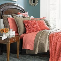 Peach Bedroom Ideas Google Search