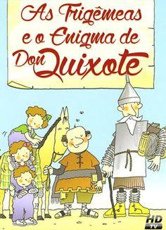Poster do filme As Trigêmeas e o Enigma de Don Quixote