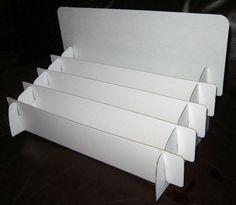 Diy cardboard greeting card display poemsrom cardboard greeting card 4 tier display 32 m4hsunfo