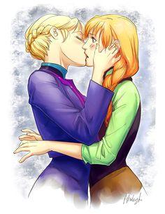 anna and elsa frozen hentai