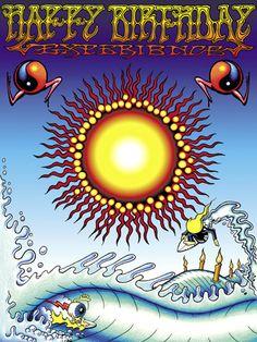 Grateful Dead Birthday Quotes Happy Hippie Birthday You Happy Birthday Hippie Van Music