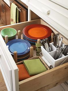 1000 images about rv dishes on pinterest tension rods kitchen sinks and drawers on kitchen organization dishes id=28323