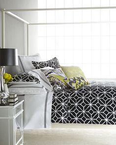 Black White Amp Accent Colors On Pinterest Black White