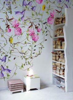 Painted Wall Murals Hand Painted Walls And Wall Murals On