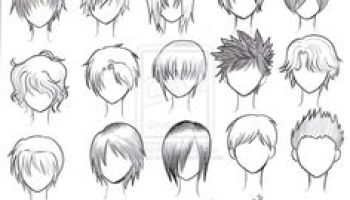 How To Draw Male Anime Hair Hd Wallpaper Gallery
