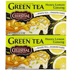 Best Honey Lemon Ginseng Flavor Green Tea Recipe on Pinterest