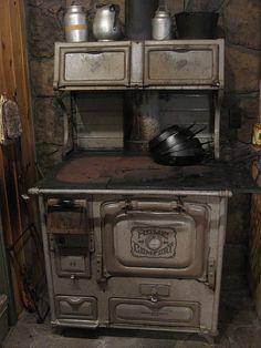 Vintage Stove Sink Refrigerator Combo Vintage Stoves Pinterest Ovens Vintage And