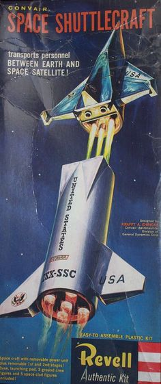 1000+ images about Space and Retro Space Models on ...