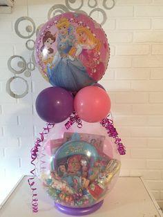 Baby Girl Disney Gifts Set Stuffed Inside Of A Balloon 45
