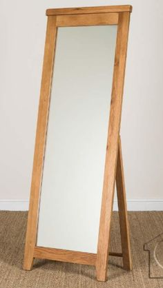 Rustic Oak Mirror From Listers For The Master Bedroom
