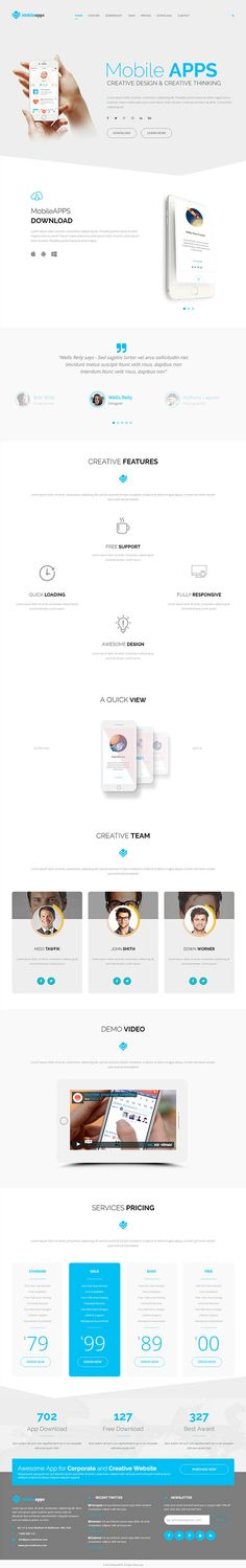 1000 Images About PSD Templates On Pinterest Html
