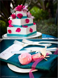 1000 Images About FuchsiaHot Pink Wedding Ideas On