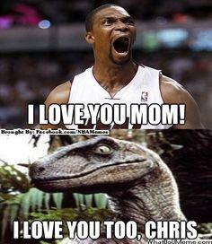 NBA Memes on Pinterest | Chris Bosh, Memes and Mother's Day