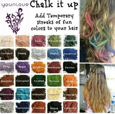 1000 images about hair chalking with younique on pinterest younique pigment powder and hair