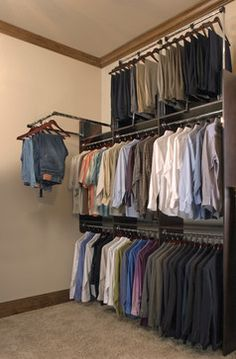 1000 Ideas About Closet Rod On Pinterest Closet Pipe Closet And Hanging Closet