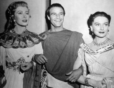 Image result for julius caesar movie 1953 DEBORAH KERR AND GREER GARSON