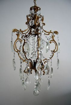 Country French Fl Bouquet Chandelier Antique Chandeliers Inessa S Antiques Lighting Pinterest And