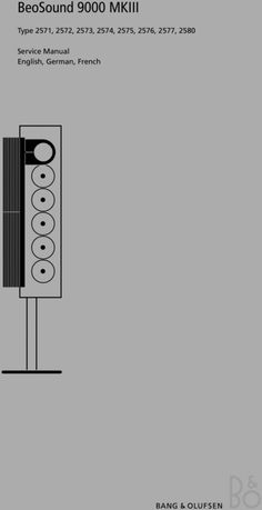 1000 images about Bang & Olufsen Service Manuals on