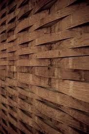 An Interior Barrel Stave Wall Wraps Around The Hightower