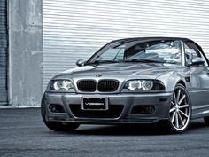 Black BMW E46 With Angel Eyes HD Wallpaper On MobDecor