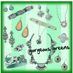 1000 Images About Mint Jewelry On Pinterest Mint Green