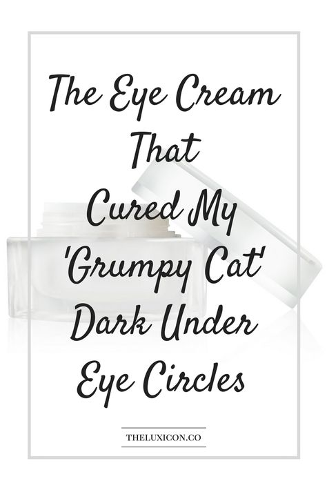 This eye cream works so well, I'm giving it away! Pin it and don't forget to enter!