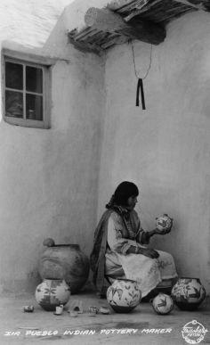 Zia Pueblo Pottery Maker