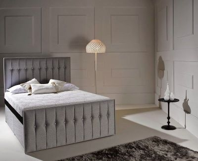 Dormeo Octaspring Revive Fabric Divan Bed With Tribrid Mattress Online By From Cfs Uk At Unbeatable Price