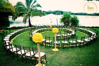 Maybe not for Miss Jenna… but I love this Pagan wedding seating