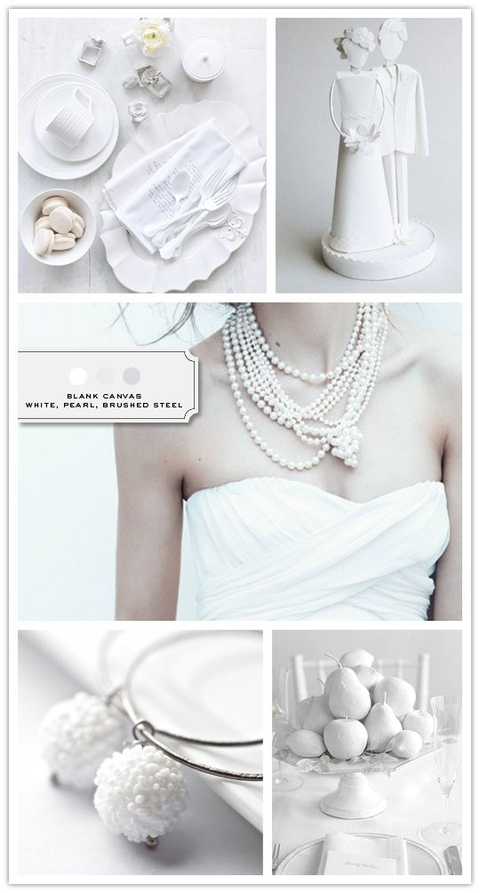 necklaces, neutral wedding inspiration