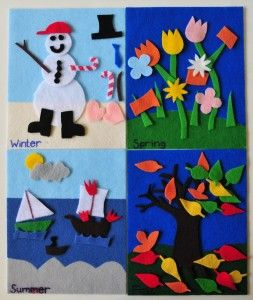 DIY felt boards for kids. I think this is a great idea for long car rides. The b