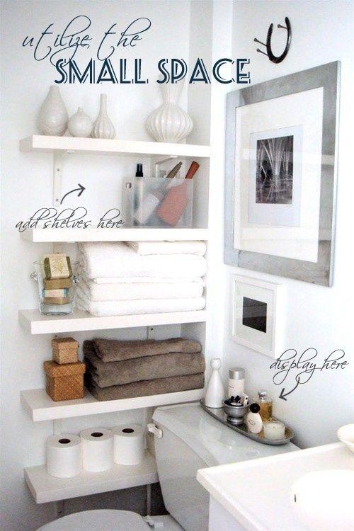 Small bathroom storage ideas @ DIY Home Design
