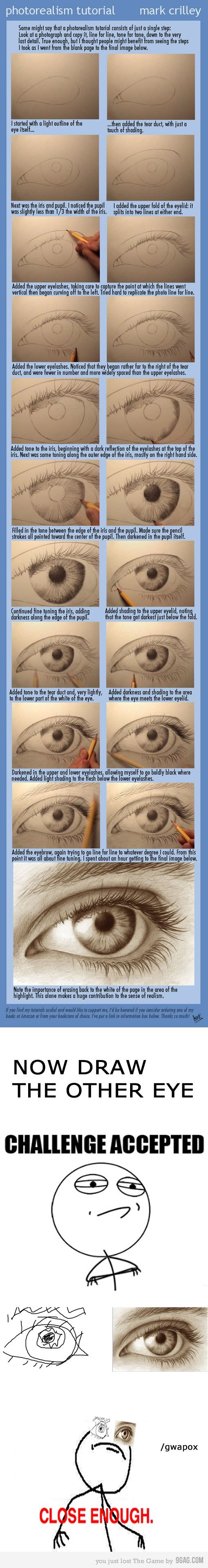 Draw an eye